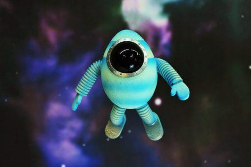 Figura luminosa - Astronauta - Planetas Mágicos